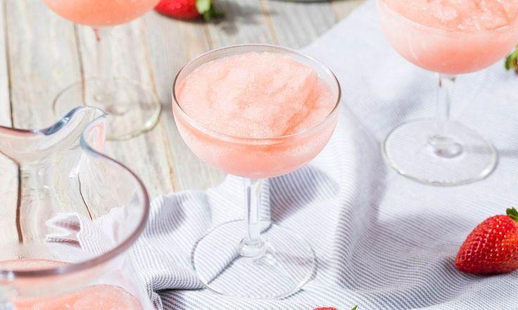 Sommerdrikken frozen rosé