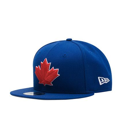 376f564cc23 NEW ERA Embroidered Toronto Blue Jays logo Adjustable snap closure for  custom fit NEW ERA branding Team logo on back MLB