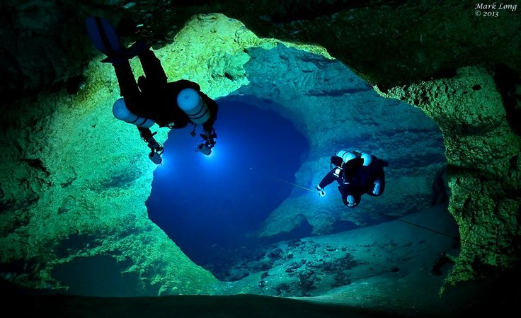 Into the Blue .. cave diving at Wes Skiles, Peacock Spring State Park