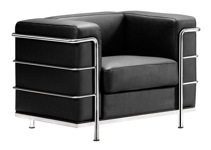 Fortress Arm Chair Black