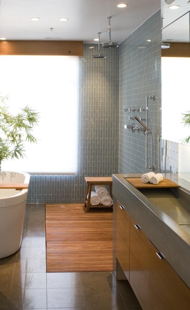 Master Bath by Modern House Architects