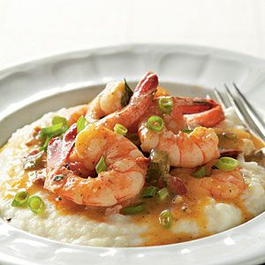 Lowcountry Shrimp and Grits... Snowstorm in NE = craving Southern comfort foods