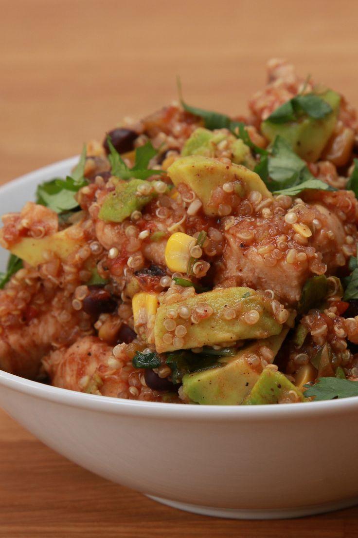 Mejores 115 im genes de bien tasty en pinterest for Cocinar quinoa con pollo