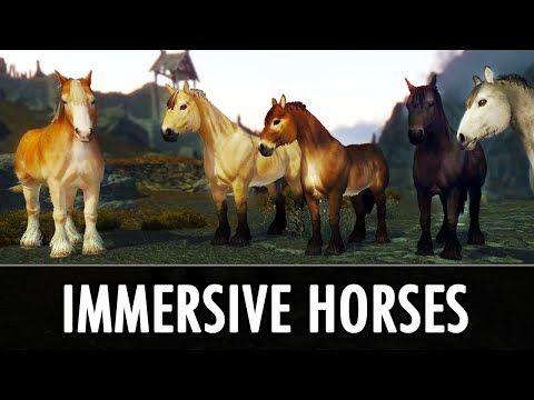 Immersive Horses at Skyrim Nexus - mods and community