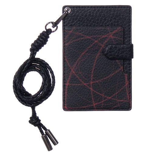 :: EBLOUIR :: Black hole neck card #wallet, #neckwallet, #cardwallet, #eblouir, #leather #style, #accessories, #best, #protective, #design, #mobile, #life