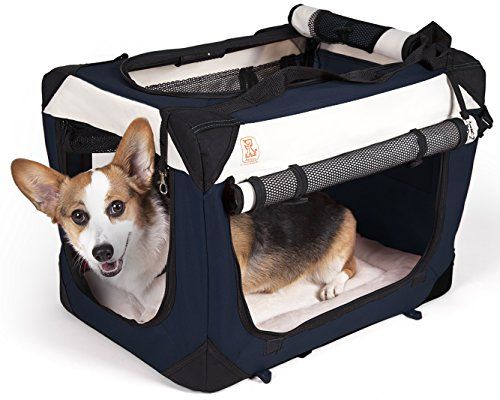 The PetLuv TufCrate 24 Small 4Door Folding Soft Dog Crate Indoor  Outdoor Pet Home Multiple Sizes and Colors Available *** You can get more details by clicking on the image.