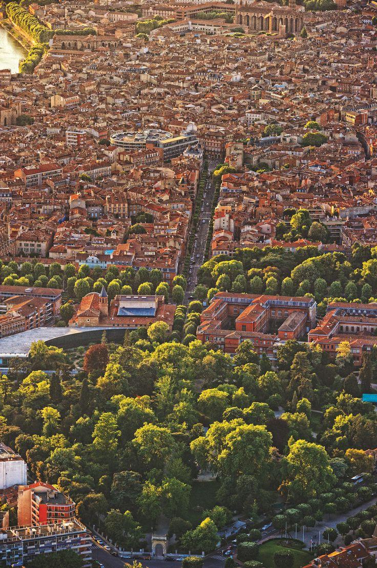 La vie à Toulouse — Toulouse vu d'en haut en 10 photos