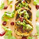 Featured from the Plan~ Veggie Burger Medallions!