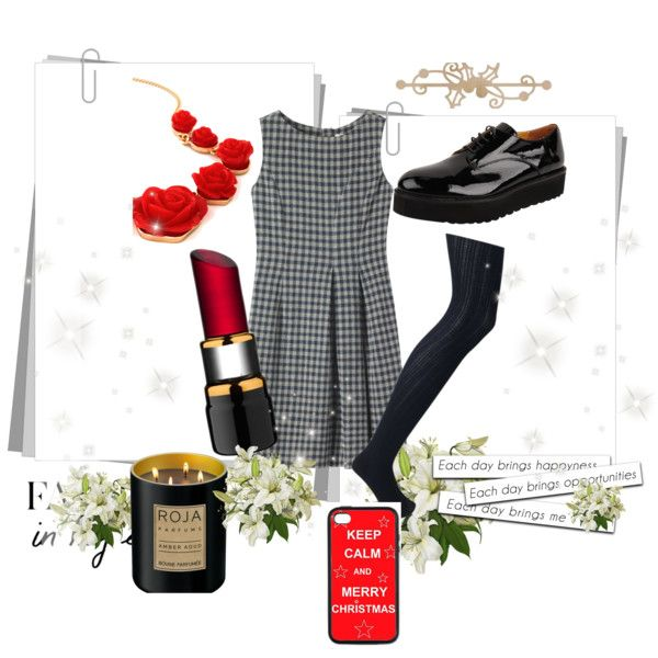 """festive mood"" by janka-dzurillova on Polyvore"