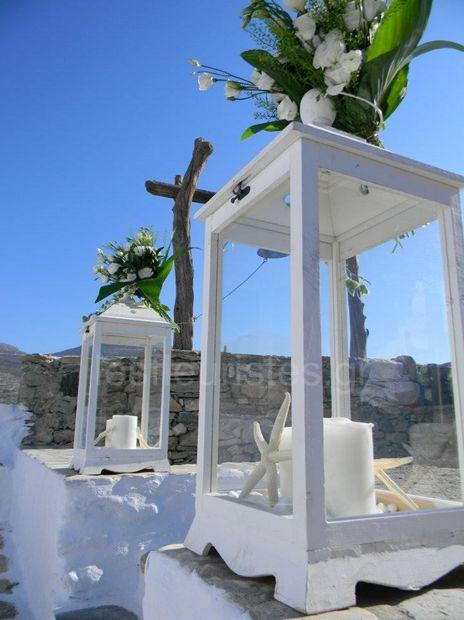 Ανθοστολισμός γάμου σε νησί #lesfleuristes #λουλούδια #ανθοσύνθεση #ανθοπωλείο #γλυφάδα #γάμος #βάφτιση #νύφη #δεξίωση