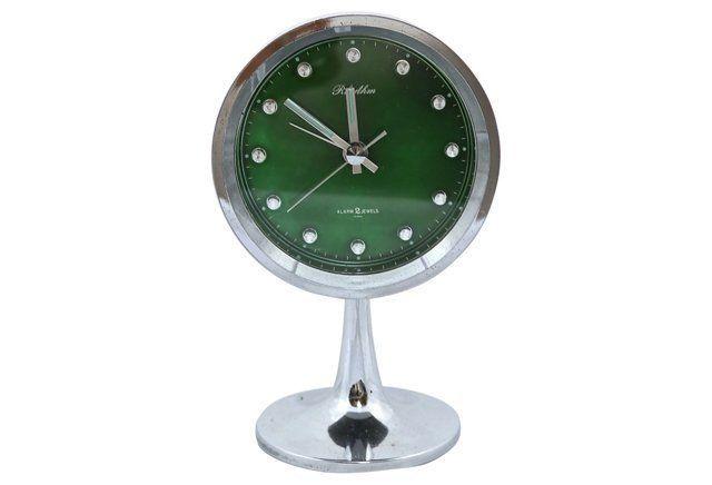 Midcentury Japanese Alarm Clock
