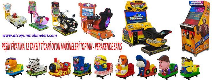 oyun salonu kurulumu  www.atcoyunmakineleri.com