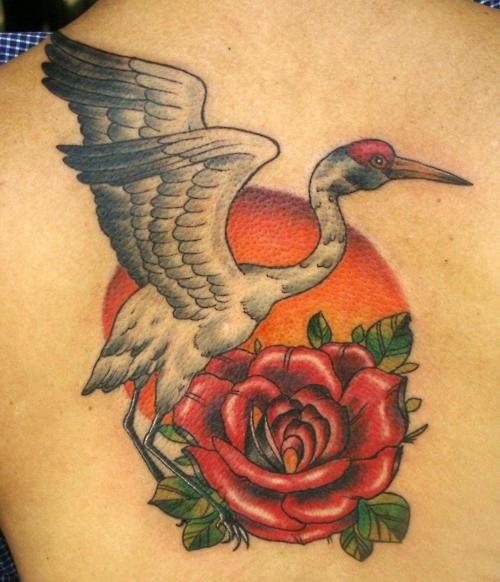 20 best images about crane tattoos on pinterest herons back tattoos and piercing studio. Black Bedroom Furniture Sets. Home Design Ideas