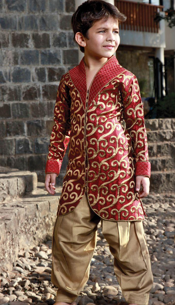 Eid kids kurta shalwar kameez designs 2013 2014 - Find This Pin And More On Kids Designer Clothes