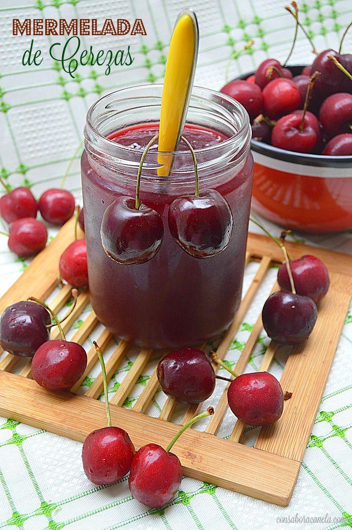!! Que ricas las cerezas!!, es una fruta que me encanta, me pongo a comer en ellas y es que no tengo fondo y como este año las encuentro rea...