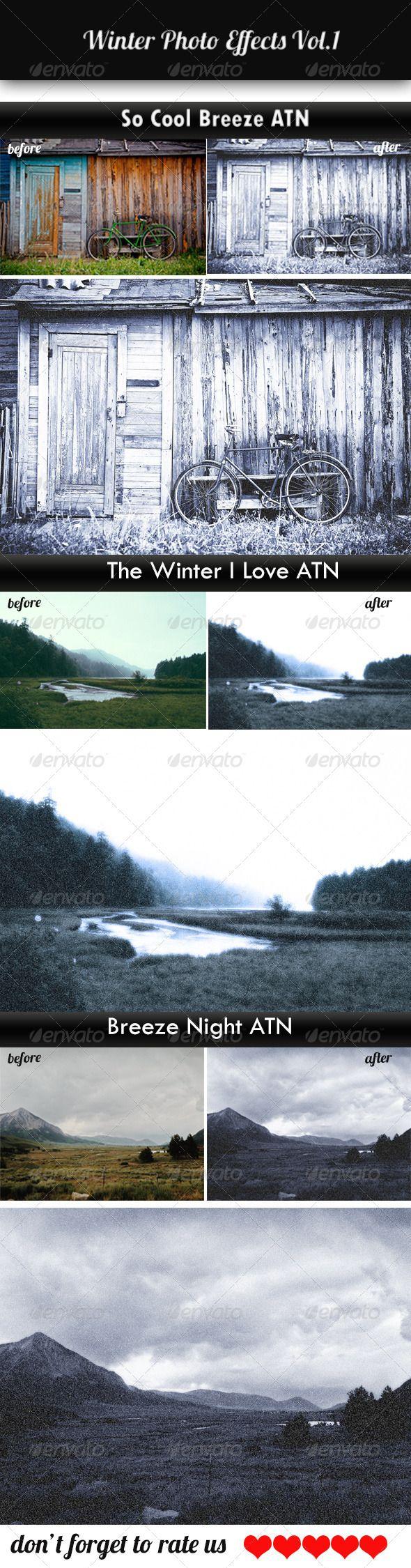 Winter Photo Effects Vol.1