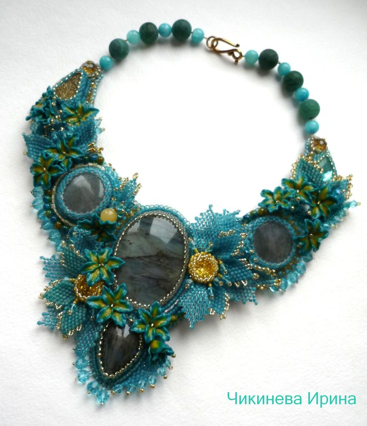 Embroidered Beads: 1000+ Ideas About Bead Embroidery Jewelry On Pinterest