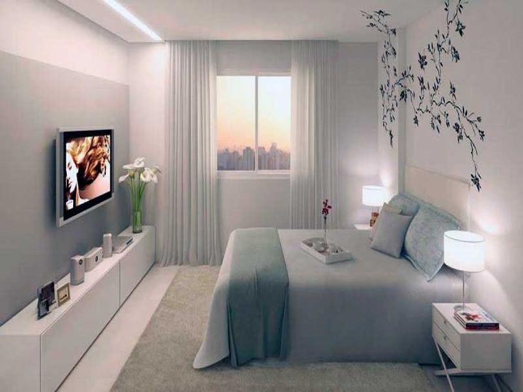 Las 25 mejores ideas sobre habitaciones peque as en for Ideas de decoracion para departamentos pequenos