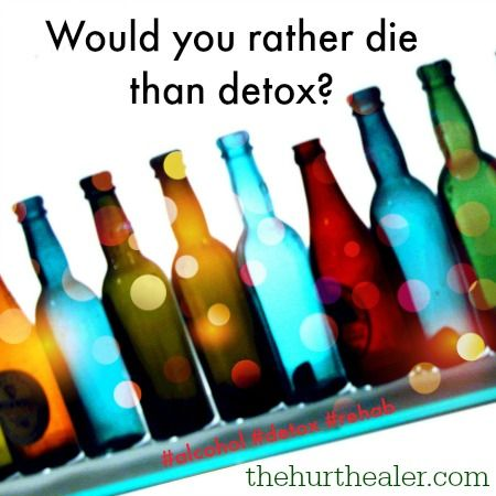 how to help someone detox from alcohol