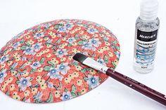 Découpage em pratos - Portal de Artesanato - O melhor site de artesanato com passo a passo gratuito