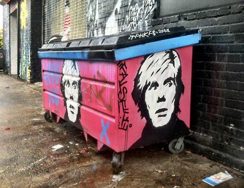 Andy in the Alley behind La Brea in LA