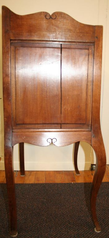 Louis XV Style Cherry Nightstand | From a unique collection of antique and modern night stands at https://www.1stdibs.com/furniture/tables/night-stands/
