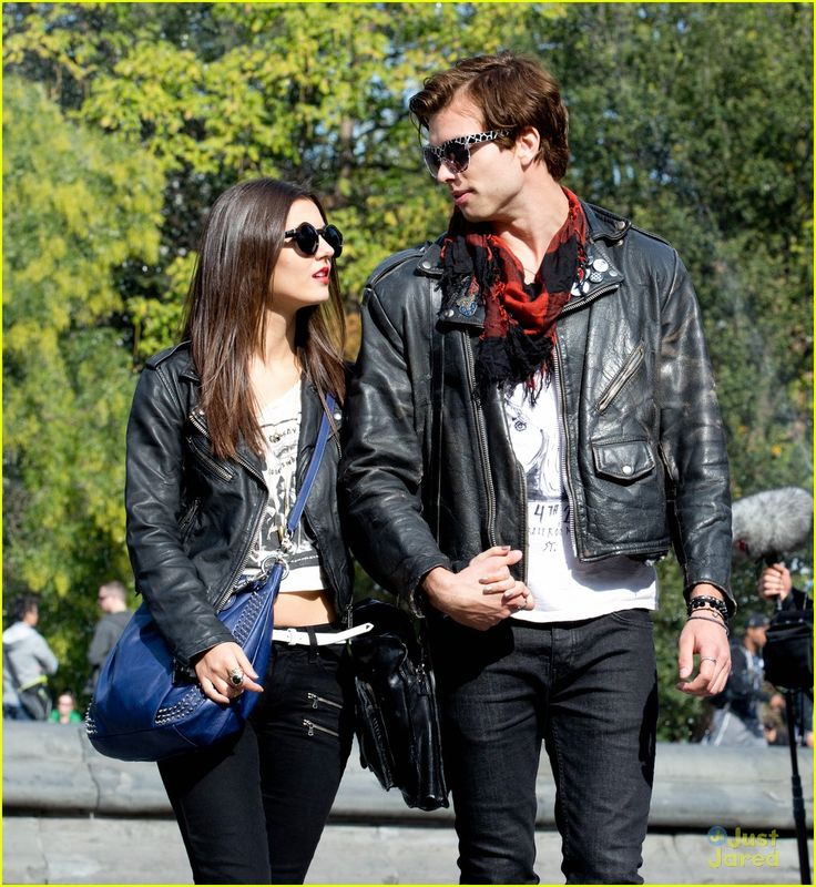 The former couple Victoria Justice and her ex-boyfriend Pierson Fode spotted holding hands in the street of New York