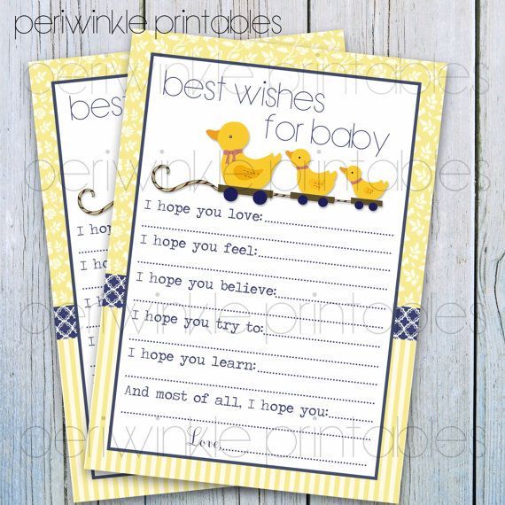 INSTANT DOWNLOAD Rubber Duck Baby Shower by PeriwinklePrintables, $5.00