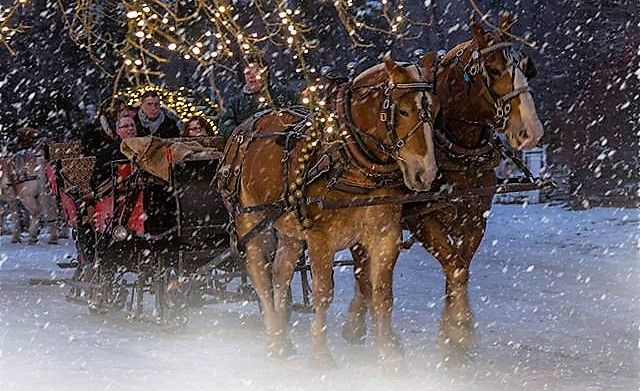 This Sleigh Ride Chocolate Tour In New Hampshire Is What Dreams Are Made Of