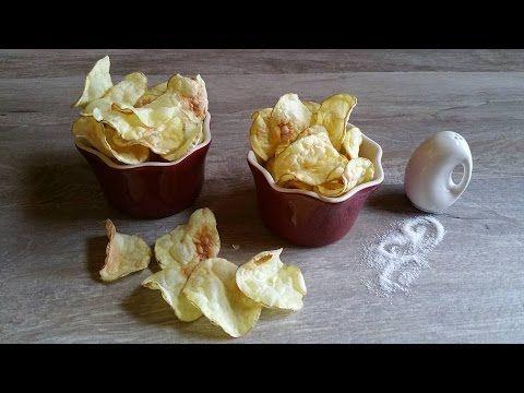 Chips di patate pronte in 3 minuti, zero grassi | #vegan #vegetarian