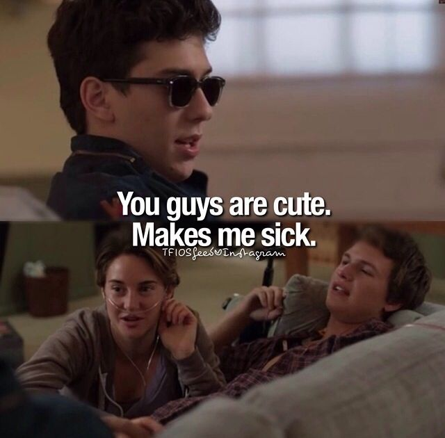 The Fault In Our Stars, Isaac, Hazel-Grace Lancester, and Augustus Waters (Gus) #TFIOS