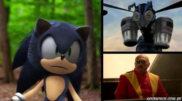 Filme do Sonic criado por fãs