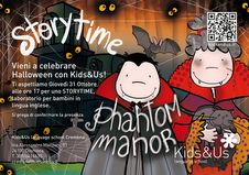 """31 Ottobre - Kids&Us Language School di Cremona – """"Storytime"""", laboratorio in lingua inglese per bambini per festeggiare Halloween"""