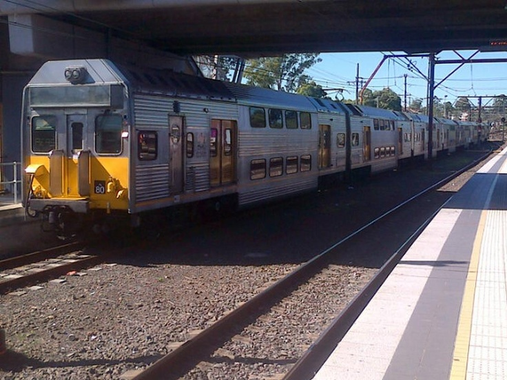 K80 @ Penrith heading to the sidings Photo by David Dezenieks #cityrail #railcorp #trains #australia #sydney #trainsnsw #railways #kset #emu #sector3