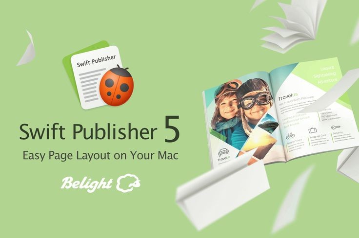 Swift Page Layout and Desktop Publisher for Mac - only $12!