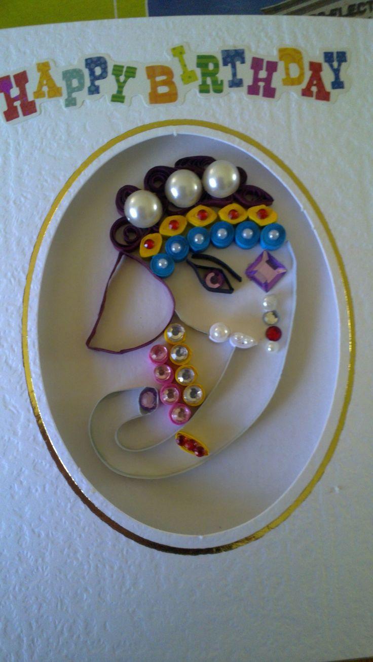 Elephant, I made for Katie