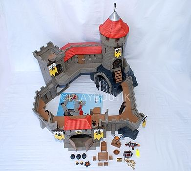 CHATEAU FORT PLAYMOBIL - http://www.playboutik.com/achat-chateau-fort-playmobil-409386.html
