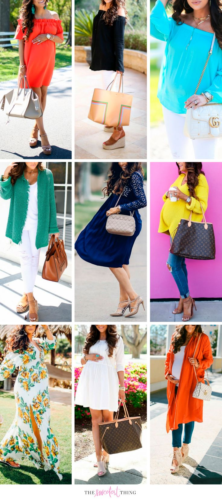 Summer and Spring outfits that I wore last year. Fashion for Women, fashion style, louis vuitton, gucci bag, chanel bag, denim, fashion trends, summer style, spring style, fashion inspiration, fashion, popular looks, popular outfits, fashion dresses, summer dress, Emily ann Gemma, The Sweetest Thing Blog. #EmilyAnnGemma #TheSweetestThingBlog #fashion #fashionblogger #womenfashion #summerstyle
