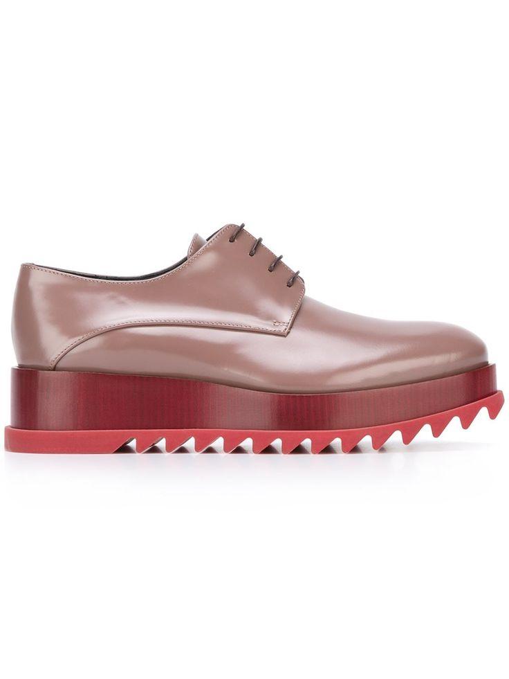 Jil Sander туфли на платформе