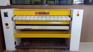 distributor mesin laundry: Flatwork ironer 1,4 meter Buatan Eropa Ready stock...