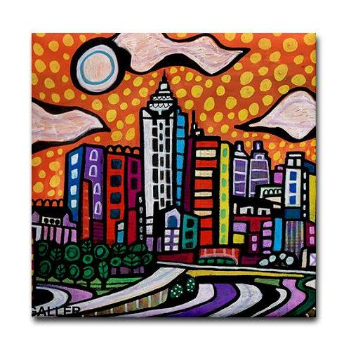 Hey, I found this really awesome Etsy listing at https://www.etsy.com/au/listing/193838354/atlanta-art-tile-city-historic-georgia