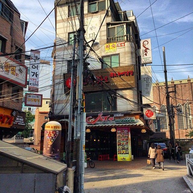 .@nycneil | #korea#신촌#골목 | Webstagram