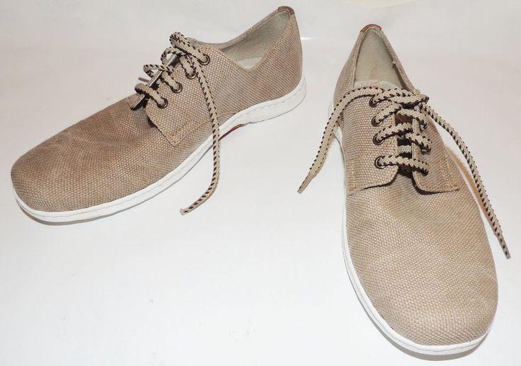 Men's BORN summer Beige Shoes Leather Upper size US 10/ EUR 44  #Born #Oxfords