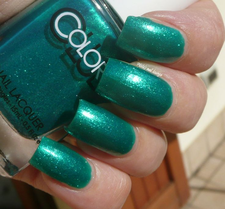 Birthstone Challenge # 5 - Emerald: Color Club Metamorphosis