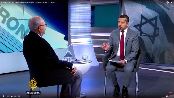 Ex-Mossad head on Israel medical aid to al-Nusra Front - UpFront