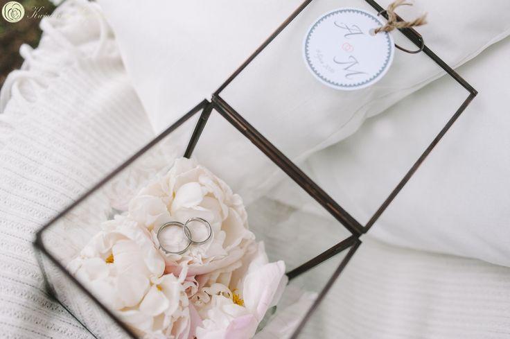 wedding ideas, wedding rings, cuffs, peonies