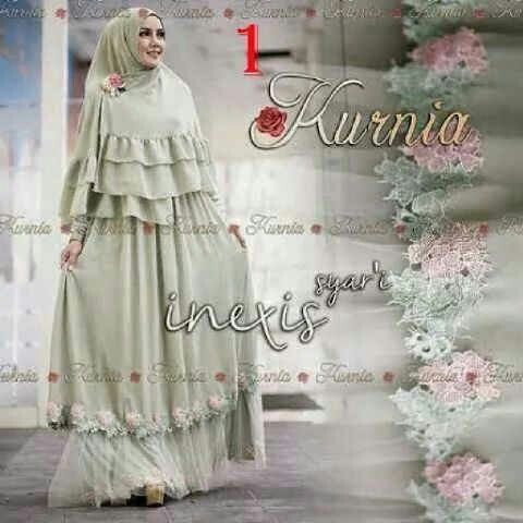 Inexis syarii (soft green) @109rb Seri isi 2, bhn jersey premium kombi renda bordir import+bros, fit xl, pjg140 Close 28 nov, ready 5mgg ¤ Order By : BB : 2951A21E CALL : 081234284739 SMS : 082245025275 WA : 089662165803 ¤ Check Collection @ : FB : Vanice Cloething Twitter : @VaniceCloething Instagram : Vanice Cloe