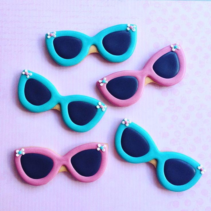 Galletas gafas de sol. Sunglasses cookies. The Sweet Estudio