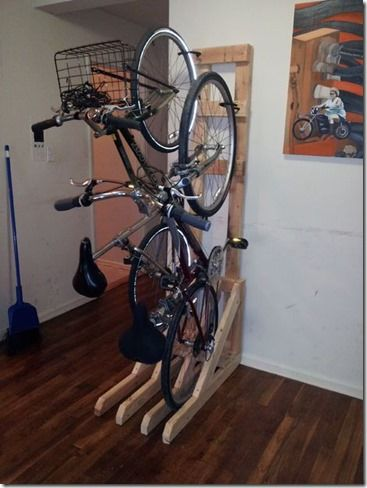 Guardando bike em apartamento : Valdecorarte