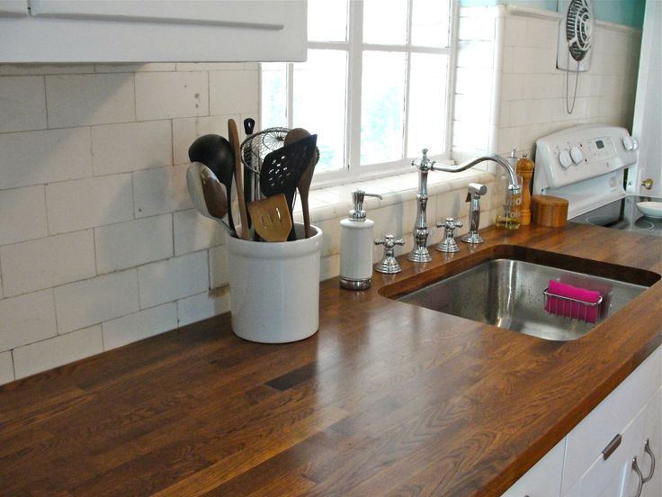 Ikea Wood Kitchen Countertops 175 best cottage wood countertops images on pinterest | kitchen